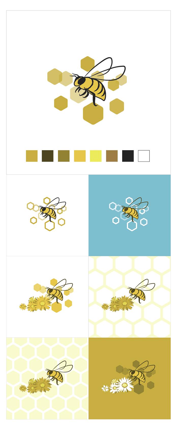 Recherche visuel d'abeille