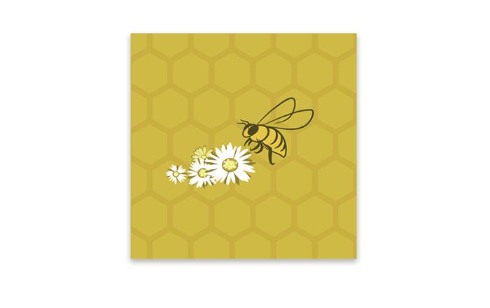 Visuel final d'abeille