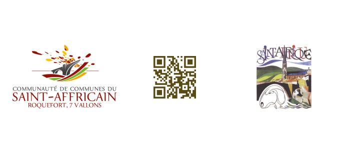 Logos plaque du Rucher Saint-Affricain