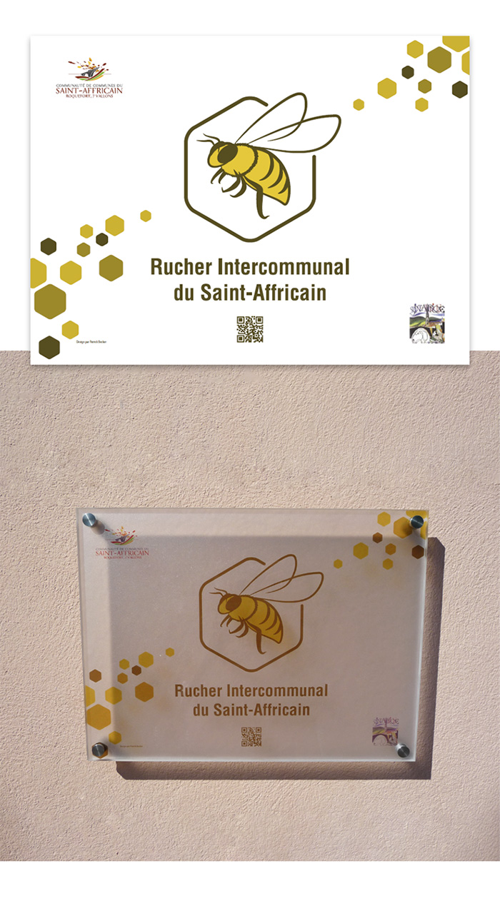 Plaque du Rucher Saint-Affricain