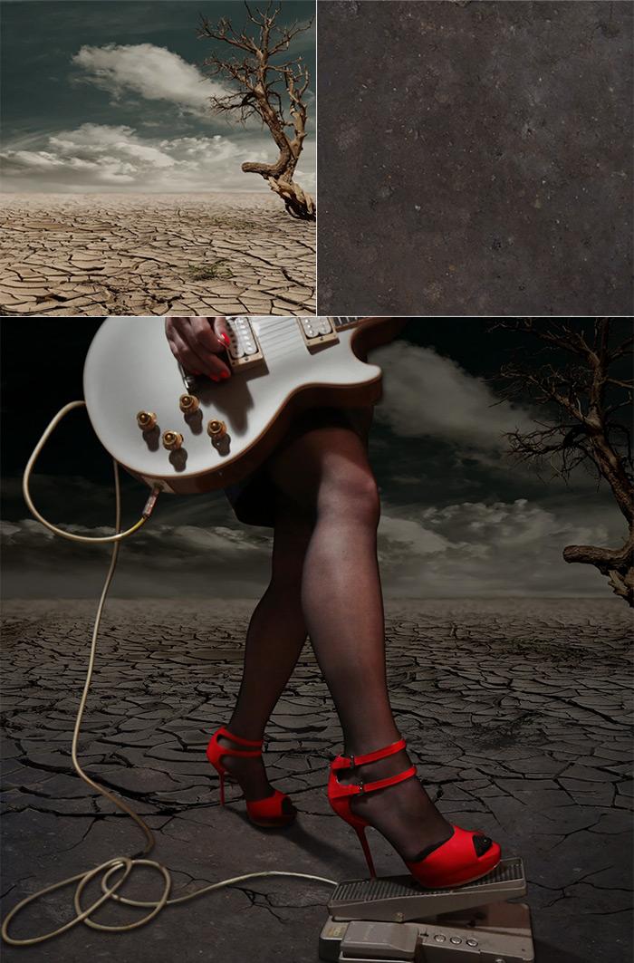 Photomontage couverture EP de Black Beauty