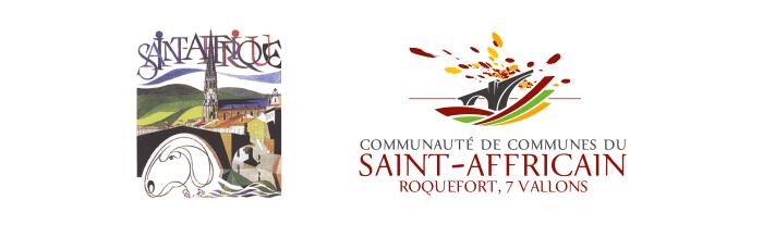 Logos Saint-Affrique et Communauté de communes