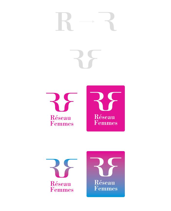 Concept 2 logo Réseau Femmes