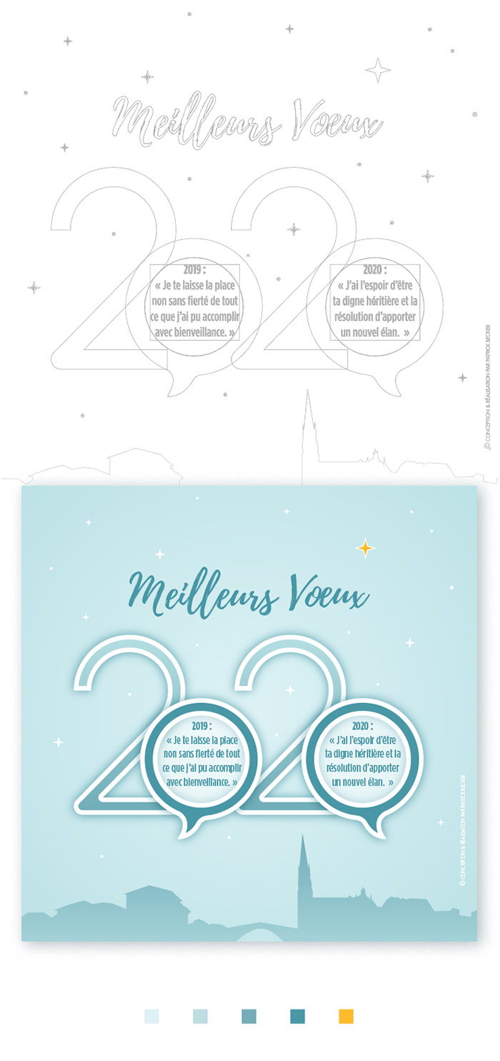 Carte de voeux 2020 wide-design